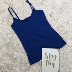 Old Navy Royal Blue Fitted Tank Top